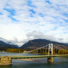 The Columbia River Skywalk is one of the longest suspension bridges of its kind in North America.
