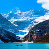 The majestic view on Lake Louise is an unforgettable travel memory.