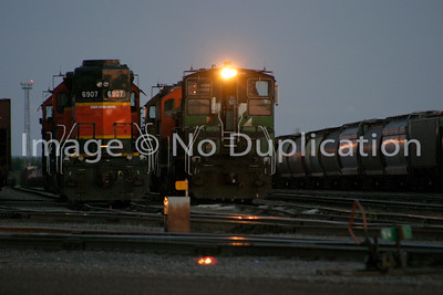 2007 June 20:  Superior, Wisconsin.  Burlington Northern yards.