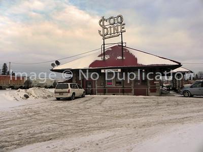 2011 0204:  TRAINS, BN RR YARDS, Superior WI.