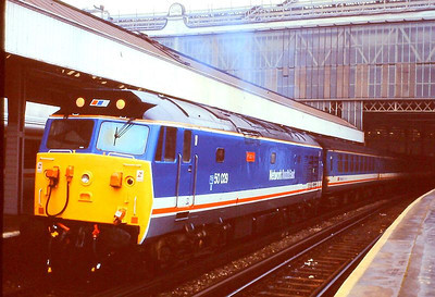 """NSE 'Hoover' 50029 """"Renown"""" at Waterloo on 5th December 1989."""