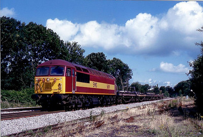56 119 - BR Class 56 Type 5 Co-Co DE - built 05/83 by Crewe Works - withdrawn 03/04.
