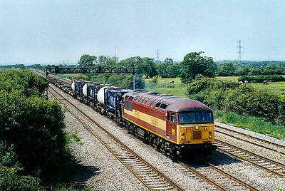 56 065 - BR Class 56 Type 5 Co-Co DE - built 10/79 by Doncaster Works - withdrawn 10/06 - seen here at Marshfield.
