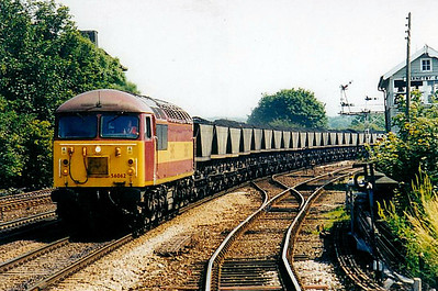 56 062 - BR Class 56 Type 5 Co-Co DE - built 08/79 by Doncaster Works - withdrawn 02/04 - seen here at Barnetby.