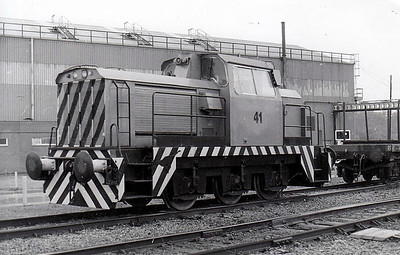 BRITISH STEEL CORPORATION, Shelton - 41 - 0-6-0 DE Shunter built in 1968  by Rolls Royce, Works No.10277 - seen here in 1997.