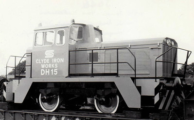 BRITISH STEEL CORPORATION, Clyde Iron Works - DH15 - Rolls Royce Vanguard Class 0-4-0 DH - seen here at Northallerton in 07/76.