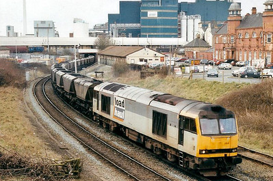 60064 - Brush Class 60 Type 5 Co-Co DE - built 08/91 by Brush Traction - 01/06 to store at Toton - seen here at Warrington.