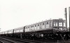 Class 104 - E50571 - BRCW 4-car DMU, 302 vehicles built in 2, 3 and 4-car sets from 1957 - all withdrawn by 1993 - seen here a brand new 4-car set on the Eastern Region.