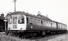 Class 103 - Park Royal 2-Car DMU, 20 sets built in 1957 - initially used in Wales but later in the West Midlands - all withdrawn by 1983 - seen here at Fairbourne on a Machynlleth train.