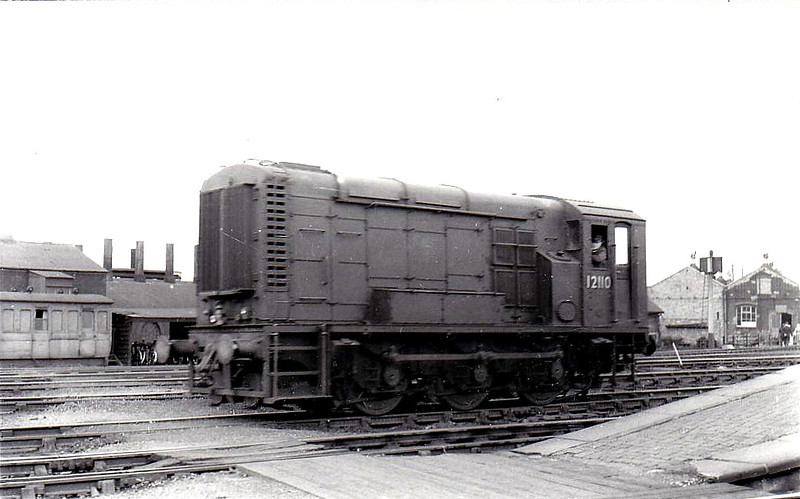 Class 11 - 12110 - LMS/EE 0-6-0DE Shunter - built 1952 by Darlington Works - withdrawn 11/72.