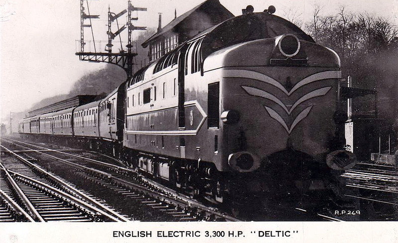 DELTIC - EE Type 5 Co-Co - built 1955 by English Electric - withdrawn 05/60 - preserved.