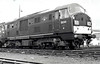 Class 22 - D6341 -  NBL Type 2 B-B DH - built 05/62 by North British Loco Co. - withdrawn 11/68 from 81A Old Oak Common, where seen  in 08/67.
