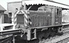 Class 03 - D2020 - BR 0-6-0DM Shunter - built 05/58 by Swindon Works - 1973 to 03 020 - withdrawn 12/75 from 32A Norwich Thorpe - seen here at Oulton Broad in 08/69.