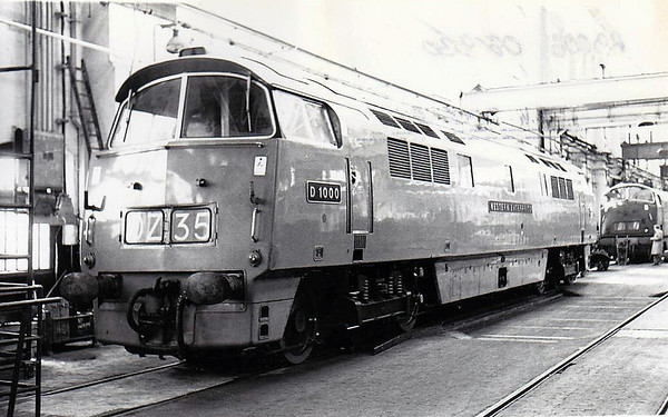 BRITISH RAILWAYS PRE-TOPS DIESEL LOCOMOTIVES