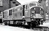 Class 22 - D6326 - NBL Type 2 B-B DH - built 05/62 by North British Loco Co. - withdrawn 11/68 from 81A Old Oak Common, where seen in 07/67.