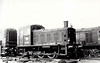 Class 03 - D2085 - BR 0-6-0 DM Shunter - built 03/59 by Doncaster Works - withdrawn 12/69 - seen here at Eastleigh in 1960.