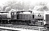 Class 03 - BR 0-6-0DM Shunter - built 05/60 by Doncaster Works - withdrawn 06/72 - seen here at Ipswich.