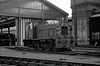 Class 03 - D2014 - BR 0-6-0DE Shunter - built 04/58 by Swindon Works as D2014 - 1973 to 03 014 - withdrawn 06/74 from Stratford TMD - seen here at March.