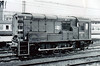 08930 - BR/English Electric Class 08 0-6-0 DE Shunter - built 05/62 by Darlington Works as D4160 - withdrawn 02/90.