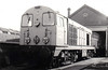 20050 - EE Class 20 Type 1 Bo-Bo DE - built 06/57 by English Electric as D8000 - 1973 to 20050 - withdrawn 12/80 - preserved NRM.