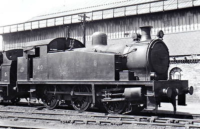 NATIONAL COAL BOARD, Ashington Colliery - No.40 - 0-6-0T - built 1954 by Robert Stephenson & Hawthorn Ltd., Works No.7765 - preserved at Weardale Railway - seen here 06/67.