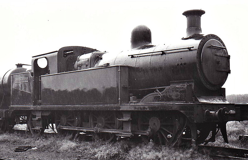 NATIONAL COAL BOARD, Walkden Colliery - KING GEORGE VI - ex-NSR Class New L 3F 0-6-2T - built 11/13 by Stoke Works as NSR No.69 - 1923 to LMS No.2257 - 05/37 sold to Manchester Collieries, named KING GEORGE VI - 1968 withdrawn and scrapped.