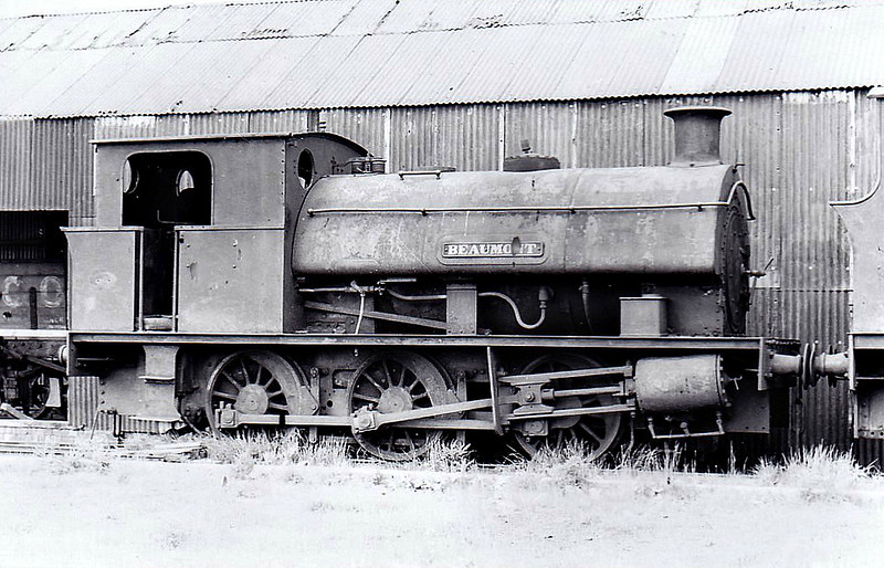 STEWARTS & LLOYDS LTD., Corby - No.28 BEAUMONT - 0-6-0ST - built 1900 by Hunslet Engine Co., Works No.2469 - seen here 06/51.