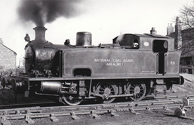 NATIONAL COAL BOARD, Hazelrigg Colliery - No.39 - 0-6-0T - built 1938 by Robert Stephenson & Hawthorn Ltd., Works No.6947 - preserved at Darlington.