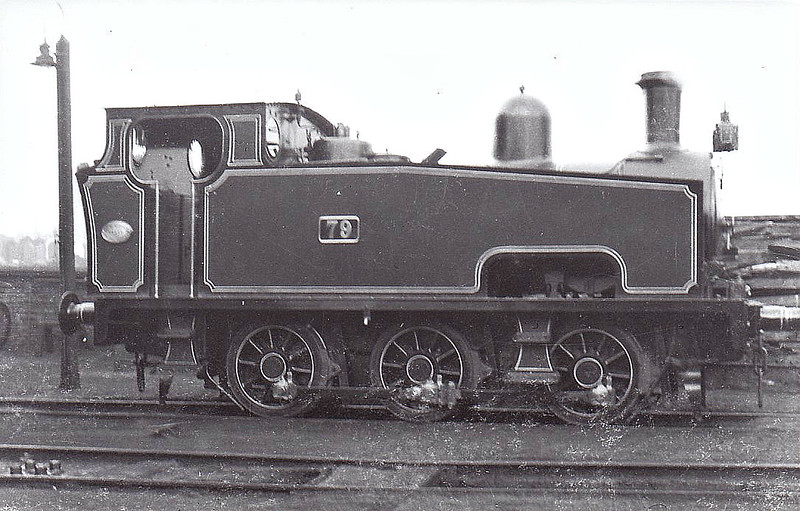 79 - no details known but I think that this may well be a PLA loco.