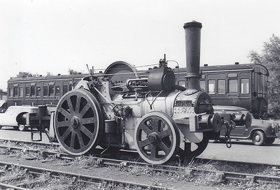 ASSOCIATED PORTLAND CEMENT MANUFACTURERS, Snodland - THE BLUE CIRCLE - 2-2-0WT - built 1926 by Aveling Porter & Co., Works No.9449 - 1964 withdrawn and given to the Bluebell Railway, where seen - now preserved at Rushden, Higham and Wellingborough Railway.