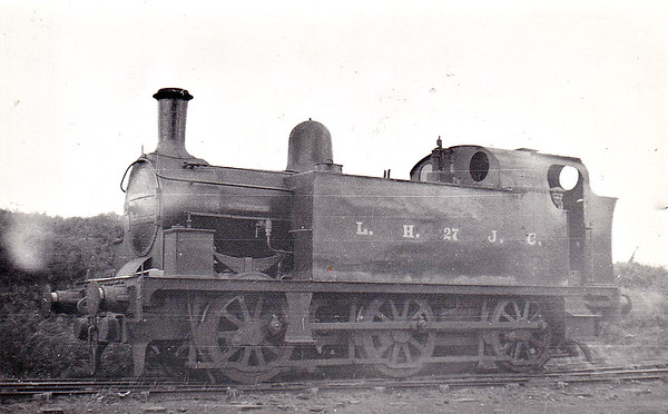 LAMBTON, HETTON & JOICEY COLLIERIES - 27 - Newcastle & Darlington Junction Railway 2-4-0 - built 1845 by R Stephenson & Co., Works No.491, as N&DJR No.30 - 1846 to NER as No.30, later No.30A - 1864 rebuilt by Gateshead Works as 0-6-0, 1873 rebuilt as 0-6-0ST - 1898 sold to Lambton, Hetton & Joicey Colliery as No.27 - rebuilt as 0-6-0T.