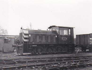 NATIONAL COAL BOARD, Rossington Colliery, South Yorkshire - SAM - Ex-BR Class 05 0-4-0DM - built 06/60 by Hunslet Engine Co. as BR No.D2598 - 12/67 withdrawn from 50D Goole - sold to NCB - 05/75 scrapped by NCB, Philadelphia.