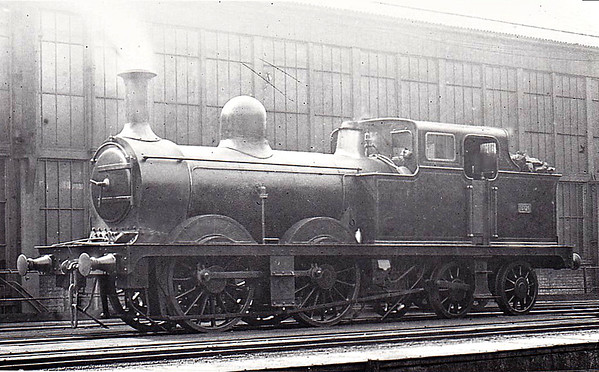 LONDONDERRY RAILWAY - 21 - 0-4-4T - built 1895 by The Londonderry Railway - 10/00 to NER No.1712 - 1909 withdrawn, sold to IoWCR as No.2 - 08/27 sold. This loco appears to be No.26 or 28 according to the little plate on the bunker but the Londonderry only ever owned the one 0-4-4T and I think that this may be No.21 reboilered with the tanks shortened. The Londonderry Railway, located not in Ireland but the North East of England, was wholly owned by the Marquis of Londonderry to move coal from his numerous coalmines to the staithes at Sunderland and, eventually, from his own deepwater port at Seaham. The mainline ran from Seaham to Sunderland and carried not only goods but boasted a regular passenger as well. In July 1900, it was bought by the NER for £400,000.