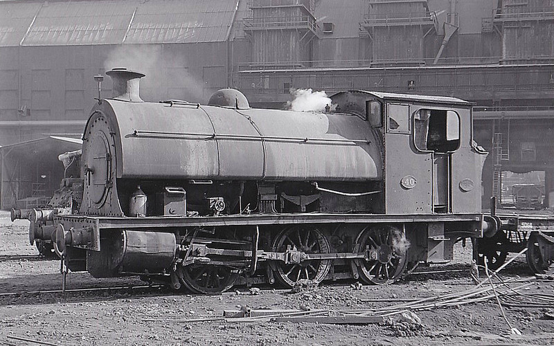 STEWARTS & LLOYDS LTD., Corby - No.40 - 0-6-0ST - built 1919 by Hunslet Engine Co., Works No.3375 - 1931 acquired from North Lincolnshire Iron Co. - 06/69 scrapped.