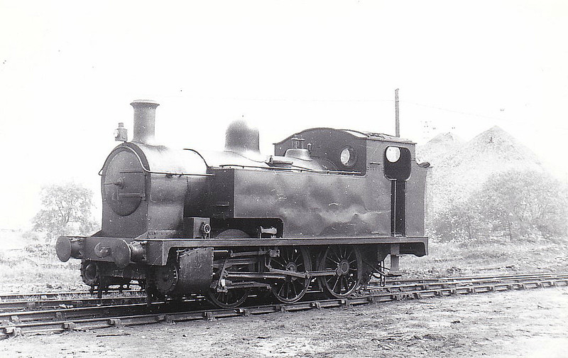NATIONAL COAL BOARD, Hatfield Main Colliery - No.5 - Drummond GSWR Class 5 0-6-0T - built 11/17 by North British Loco Co. as GSWR No.7 - 1919 to GSWR No.323, 1923 to LMS No.16378 - 04/34 withdrawn, sold to Hatfield Main Colliery as No.5 - scrapped around 1954 - seen here 05/52.