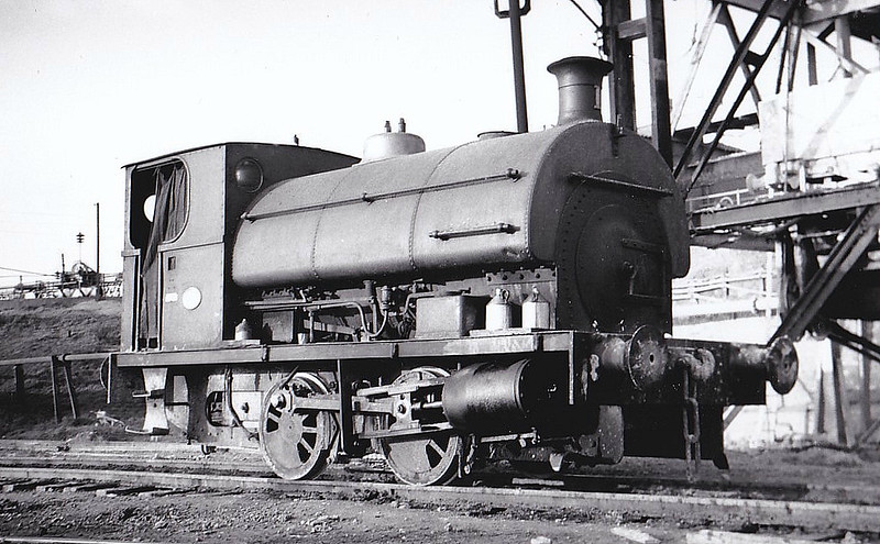ASSOCIATED PORTLAND CEMENT MANUFACTURERS, Bevan's Works - No.1 - 0-4-0ST - seen here 02/53.