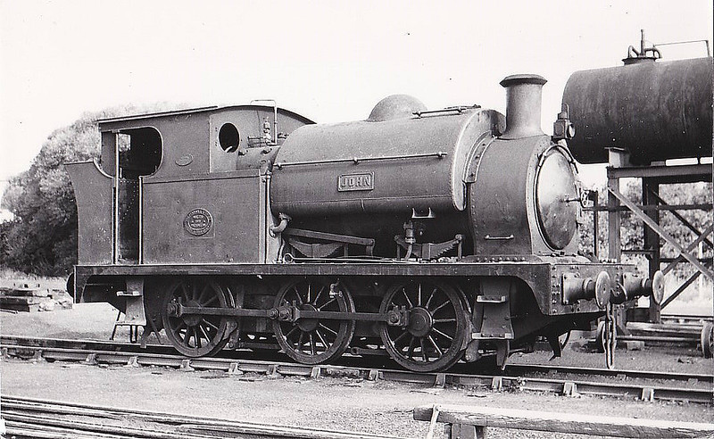 STANDISH HALL COLLIERY, Lancashire - JOHN - 0-6-0ST - built 1911 by Peckett & Sons - seen here 09/60.