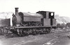 NATIONAL COAL BOARD, Prince of Wales Colliery, Pontefract - HALKON - Class Q 0-6-0ST - built 1899 by Manning Wardle & Co., Works No.1448 - new to contractors for building of Goole & Marshland Light Railway - named after Chairman, William Halkon - 1904 sold to Glass Houghton Colliery, 1947 to Prince of Wales Colliery, 1951 rebuilt - 1961 scrapped - seen here at Prince of Wales Colliery, 10/47.