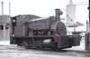 THURROCK CHALK & WHITING Co., West Thurrock - ALBERT - 0-4-0ST - seen here in 04/55.
