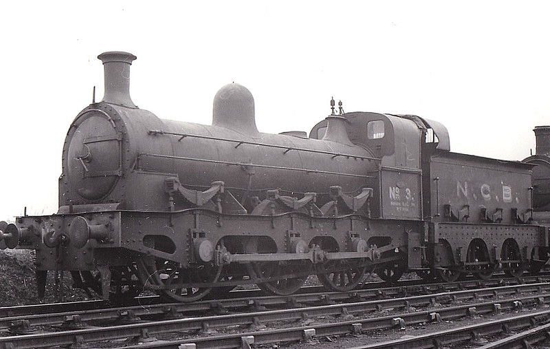 NATIONAL COAL BOARD, Philadelphia - No.3 - Long Boiler 0-6-0 built 1867 by Robert Stephenson & Co. as NER Class 93 No.657 - 1911 sold to Seaton Delaval Collieries - 1948 to NCB - 02/59 withdrawn & scrapped.