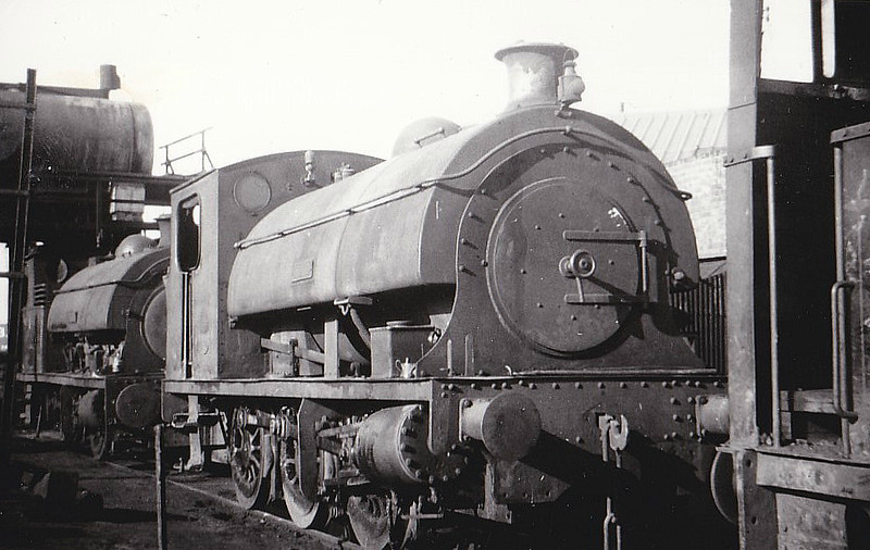 SEAHAM HARBOUR CO., Seaham - JUNO - 0-6-0ST - built 1922 by Hawthorn Leslie Ltd., Works No.3527 - bought new - 01/67 withdrawn, scrapped - seen here 05/66.