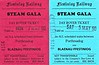 FFESTINIOG RAILWAY TICKET - STEAM GALA, MAY 1990 - Day Rover tickets for what was a 3-day event over the May Bank Holiday. I have been able to track down the following locos as being present so far:-<br /> <br /> CHALONER - De Winton 0-4-0VBT<br /> 11 EARL OF MERIONETH - 0-4-4-0T Double Fairlie of 1979<br /> 2 PRINCE - 0-4-0STT of 1864.<br /> 4 PALMERSTON - 0-4-0STT of 1864.<br /> 12 RUSSELL - WHHR 2-6-2T of 1906.