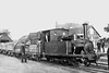 SOUTHWOLD RAILWAY - No.3 BLYTH - 2-4-0T - 914mm - built 1879 by Sharp Stewart & Co. - 1941 scrapped - seen here at Southwold.