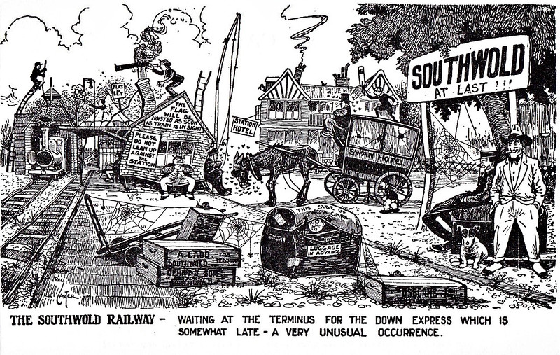SOUTHWOLD RAILWAY - SORROWS OF SOUTHWOLD No.1.