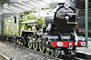No.1 GREEN GODDESS - 4-6-2 built 1925 by Davey Paxman & Co. - based on LNER Class A1 - seen here at New Romney.
