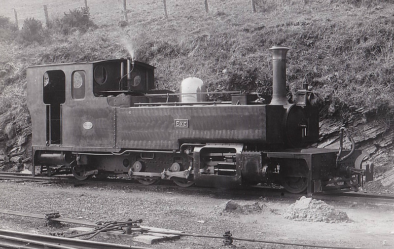 LYNTON & BARNSTAPLE RAILWAY - EXE - 2-6-2 built 1897 by Manning Wardle & Co. - 1923 to SR No.760 - 11/35 withdrawn - seen here before 1923.