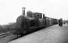 JERSEY RAILWAY - No.1 ST. HELIERS - 2-4-0T - built 1884 by Manning Wardle & Co., Works No.916 - scrapped in Jersey when the railway closed in 1936 - seen here at Corbiere terminus in 1912.