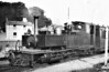 LYNTON & BARNSTAPLE RAILWAY - No.188 LEW - built 1925 by Manning Wardle & Co. - 12/35 sold at auction after closure of the line and used in dismantling - 09/36 to Swansea Docks, to SS SABOR for Recife, Brazil, bound for work on a sugar plantation - further history unknown - seen here with a train for Lynton at Barnstaple Town.