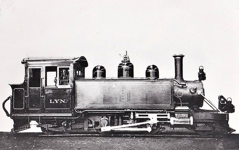 LYNTON & BARNSTAPLE RAILWAY - 2-4-2T - built 05/1898 by Baldwin Locomotive Works - 1923 to SR No.762 - 1935 scrapped - ordered to supplement the original three engines as these were not sufficient to ensure sufficient locos at all times - builder's picture I think.