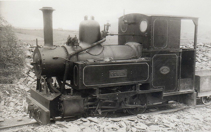PENRHYN QUARRY RAILWAY - OGWEN - 0-4-0T - 578mm - built 1933 by Avonside Engine Co. for Durham County Water Board, named DURHAM - 1938 sold to Penthryn Quarry Railway, named OGWEN - 1962 withdrawn when railway closed, 1965 sold to USA, 2012 to Beamish Museum.